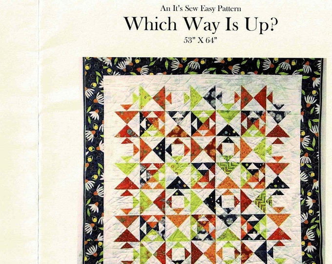 Which Way Is Up? Quilt Pattern #29 Pattern Only