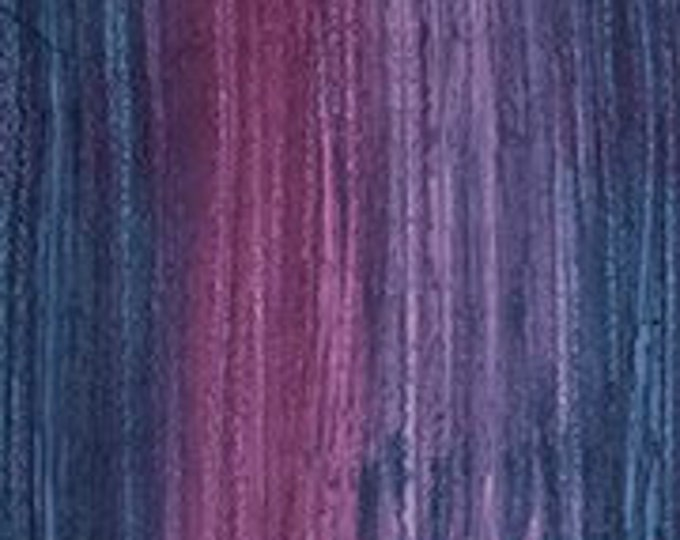 "Strata Blue/ Purple  by Banyan Batiks 80555-26  100% cotton 44/45"" wide fabric"
