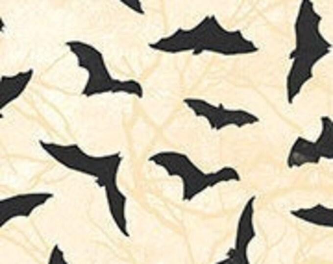 "Black Cat Capers Bats  by  Northcott   24121-12  100% Cotton 44/45"" Wide Fabrics"