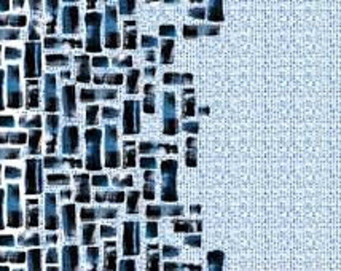 """Indigo Ombre by Hoffman 100% cotton 44/45"""" wide fabric"""
