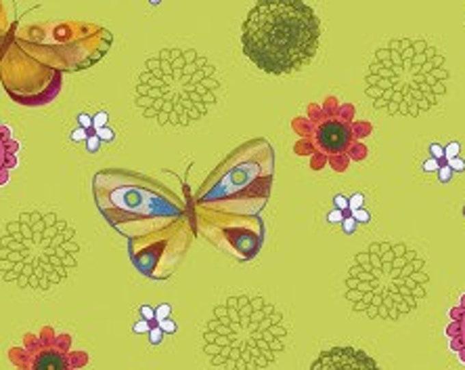 "Spice Garden by Clothworks 12044-23  44"" wide 100% Cotton Fabric"