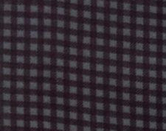 "FLANNEL Wool & Needle V - Cornflower by Moda   1223-22F  44"" wide 100% Cotton Fabric"