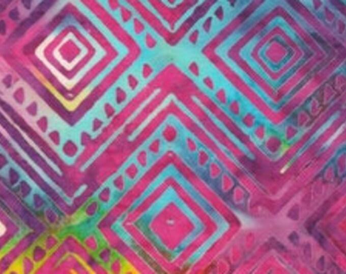 "Light Iris 1924 Multi by  Anthology Batiks 2047Q-X  100% Cotton 44/45"" Wide Fabrics"