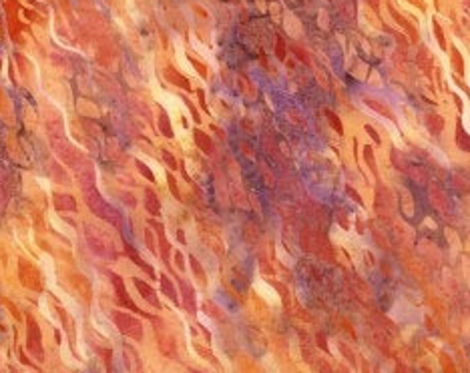 "Coral Batik by Hoffman Fabrics  N2849-59  100% Cotton 44/45"" Wide Fabric"