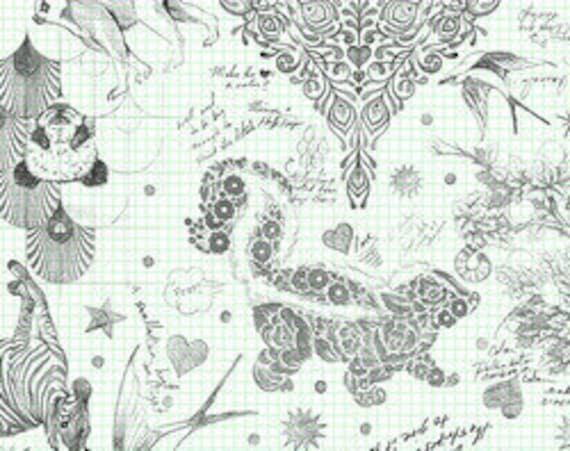 WIDEBACK Linework by Tula Pink for Free Spirit 108-inch Extra Wide Cotton Fabric Yardage Backing Fabric
