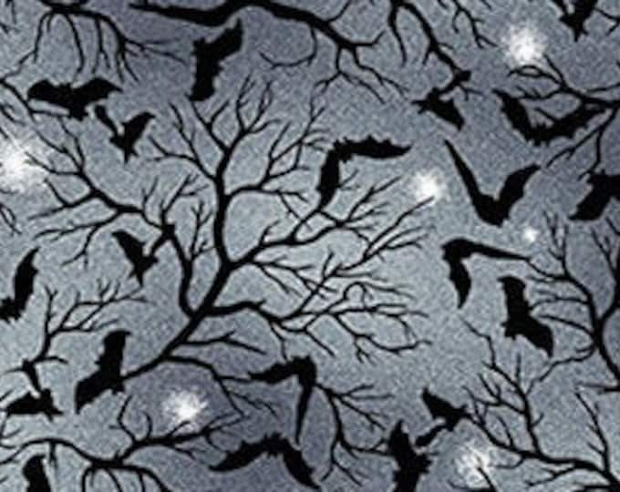 "Spooky Night by Studio E   Bats  5724-79   44"" wide 100% Cotton Fabric"
