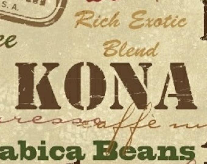 "International Coffee by Windham Fabrics  43260-4   44"" Wide 100% Cotton Fabric"