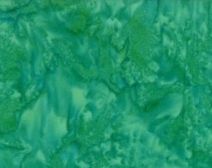 "Rock Candy Batik Green by Wilmington Prints 2678-774  44"" wide fabric 100% cotton"