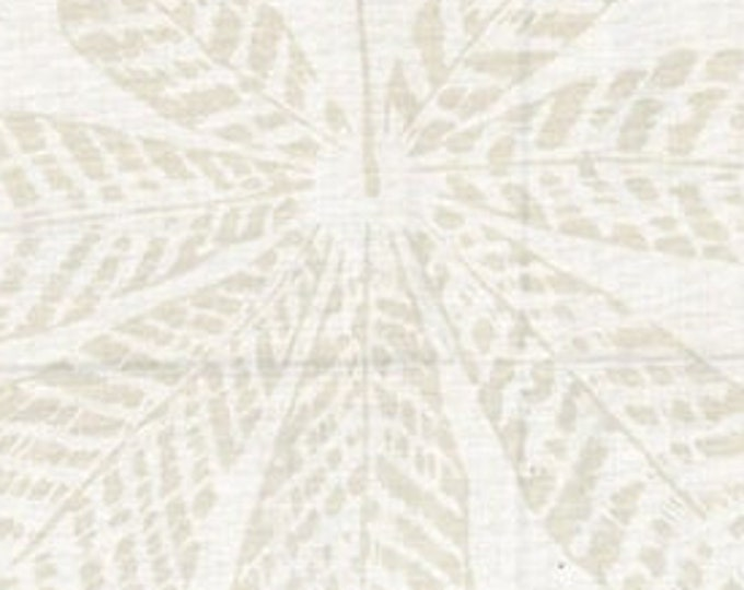 """Oyster Leaves Batik by Hoffman Fabrics R2250-265  100% Cotton 44/45"""" Wide Fabric"""