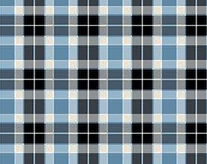 Woodland Winter Plaid by Two Can Art  for Andover Fabrics A9750B    44-inch Wide  100% Cotton Fabric Yardage