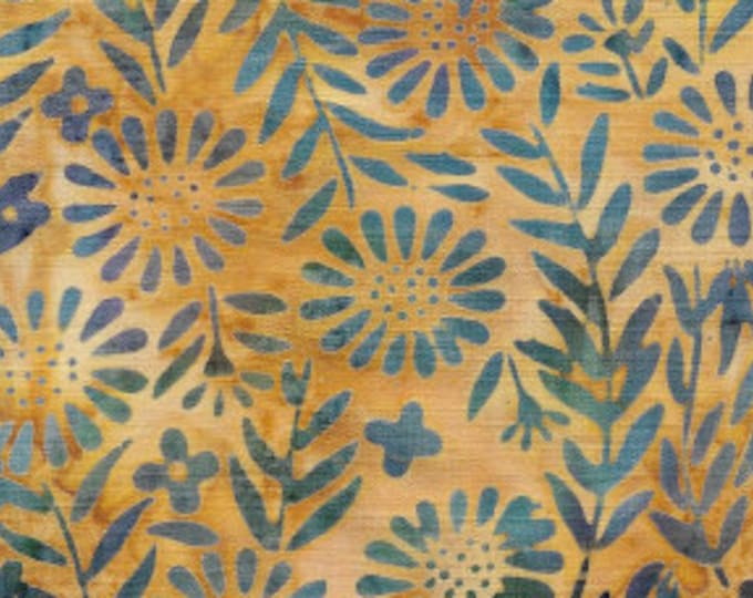 "Twilight Chic - Flower Field  by Island Batik 121816049   100% cotton 44/45"" wide fabric"