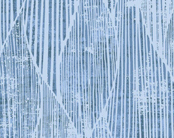 WIDEBACK Frequency Blue by Free Spirit 108-inch Extra Wide Cotton Fabric Yardage Backing Fabric