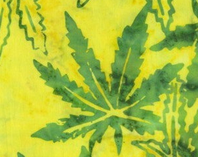 """Mary Jane Tropical Yellow by Anthology 9032Q-5  44"""" Wide 100% Cotton"""