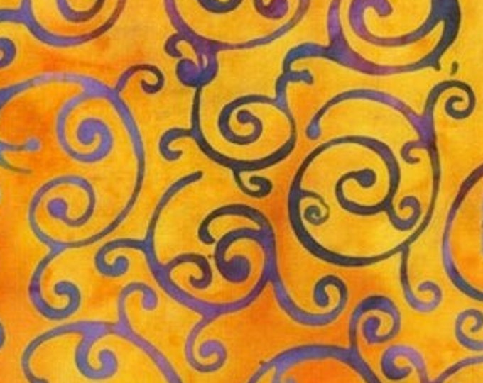 """Adventure Bright by Jacqueline de Jonge  for  Anthology Batiks  3093Q-X  100% Cotton 44/45"""" Wide Fabrics"""