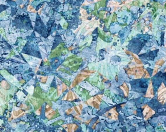 MiNkY - Illuminations Evolution -Chambray  by QT Fabrics 27696-WMINK 58 inch Wide MINKY  Fabric Yardage