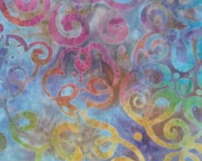 """Star Links Squiggles  by Wilmington Prints 22231-31  """"I""""  44"""" wide fabric 100% cotton"""