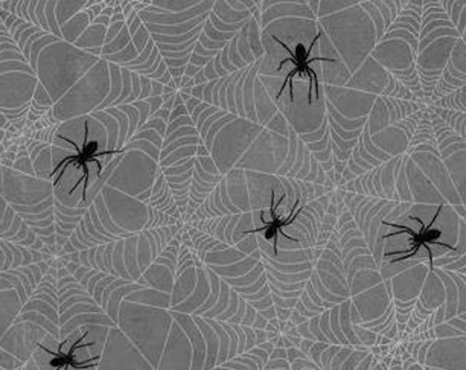 """Frightful Night by Wilmington Prints  Spiders  20509-991  44"""" wide 100% Cotton Fabric"""