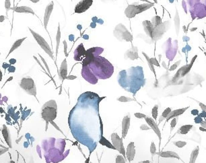 "Awakenings Birds by Wilmington Prints 13404-194 44"" wide 100% Cotton Fabric"