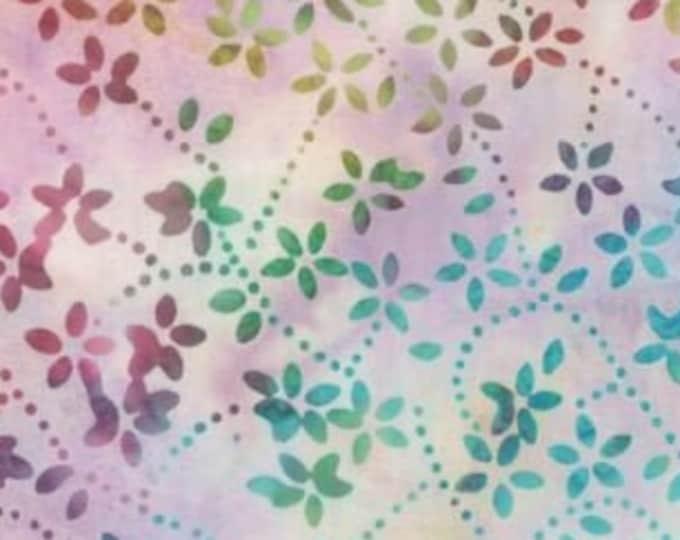 """Star Links Petite Floral Batik  by Wilmington Prints 22234-653  44"""" wide fabric 100% cotton"""