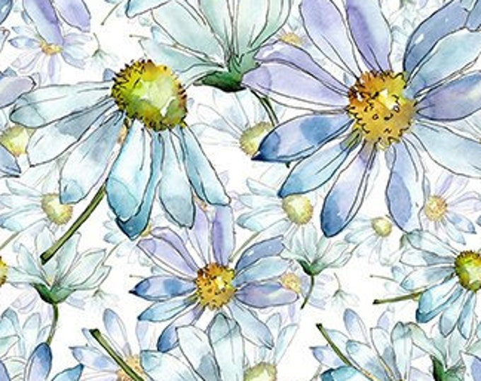 """The Leah Collection Daisies  by  In The Beginning Fabrics 6TLC-1  44"""" wide 100% Cotton Fabric"""