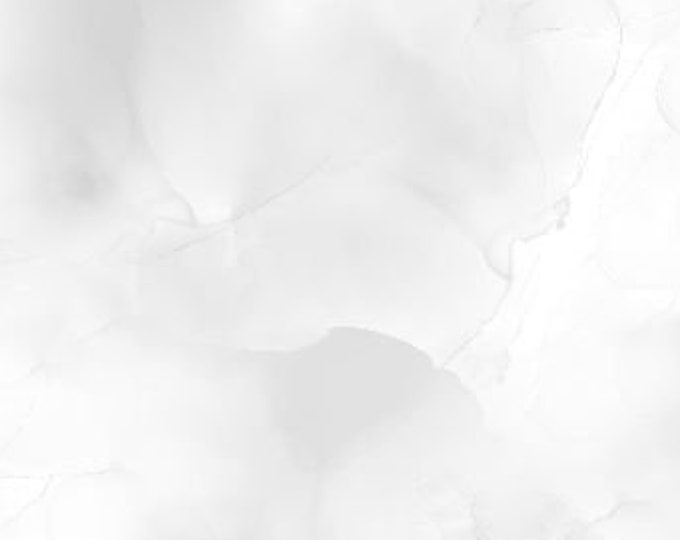 """Awakenings Watercolor Texture White (light gray) by Wilmington Prints 13408-109 44"""" wide 100% Cotton Fabric"""
