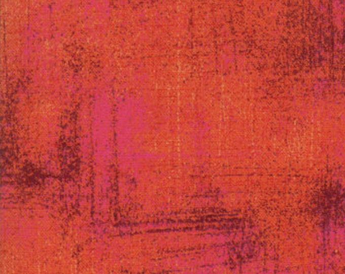 Moda Basic Grey Grunge Cinnabar 30150-311 44-inch Wide Cotton Fabric Yardage 100% cotton