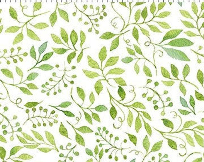 Patricia Leaves  by  In The Beginning Fabrics 7Pat-1  Digital 44-inch Wide Cotton Fabric Yardage 100% cotton