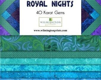 40 strips Seize the Gray Karat Gems from Wilmington Prints