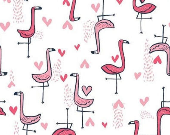 "Flamingos  by Dear Stella   - 1765   100% cotton 44/45"" wide fabric"