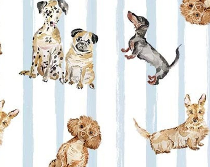 """Dog Friendly by Michael Miller   100% Cotton 44""""/45"""" Wide"""