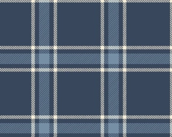 "FLANNEL Primo Plaid by Marcus Fabrics  U040-0110  44"" wide 100% Cotton Fabric"