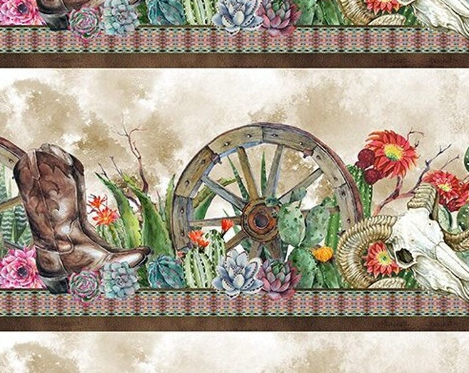 Southwest Border Stripe by  In The Beginning Fabrics Digital 44-inch Wide Cotton Fabric Yardage 100% cotton