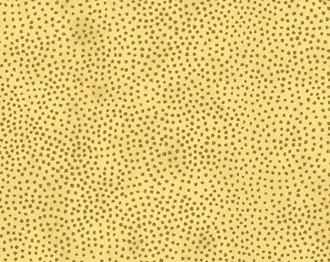 """Magic Christmas  Gold Dots from Stof Fabrics of Denmark 4597-213 44"""" Wide 100% Cotton"""