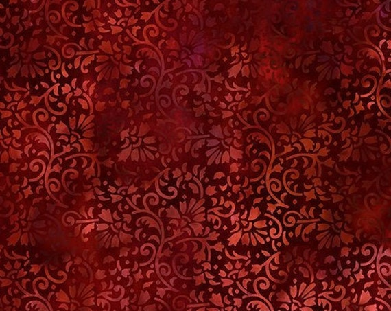 """Rainbow of Jewels Red  by In The Beginning Fabrics 2RJ-2 44"""" wide 100% Cotton Fabric"""