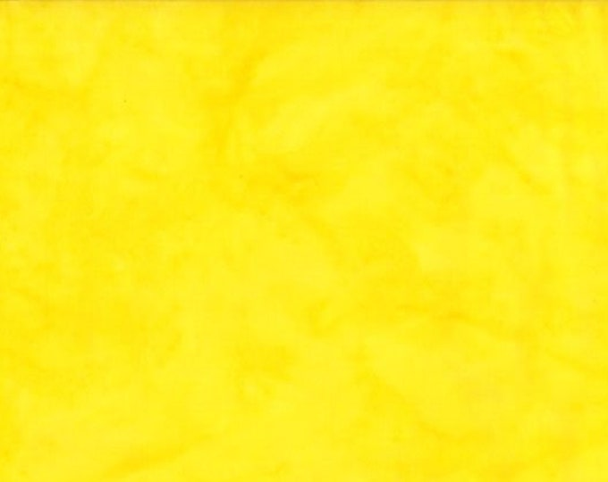 """Rock Candy Batik Yellow by Wilmington Prints 2678-555  44"""" wide fabric 100% cotton"""