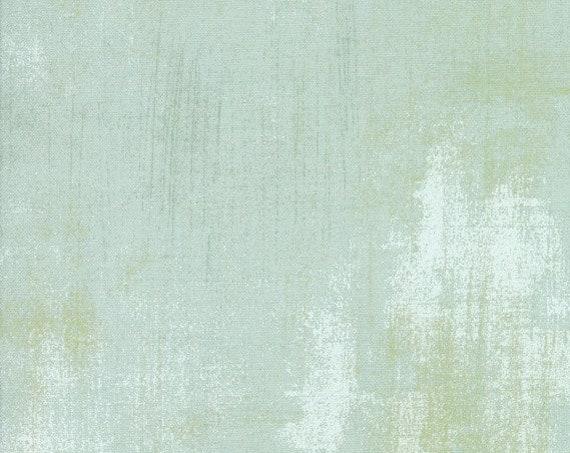 Moda Basic Grey Grunge Mint 30150-155 44-inch Wide 100% Cotton Fabric Yardage