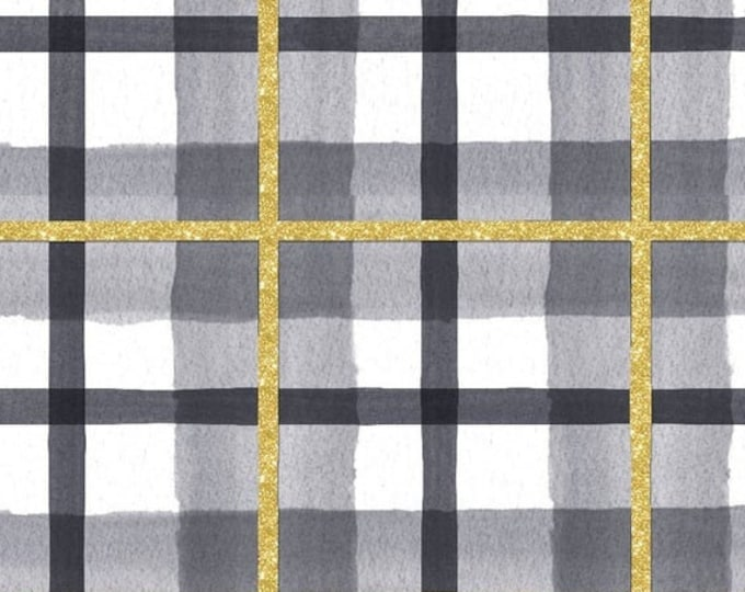 """Peace on Earth Plaid  by  3 Wishes   44"""" wide 100% Cotton Fabric"""