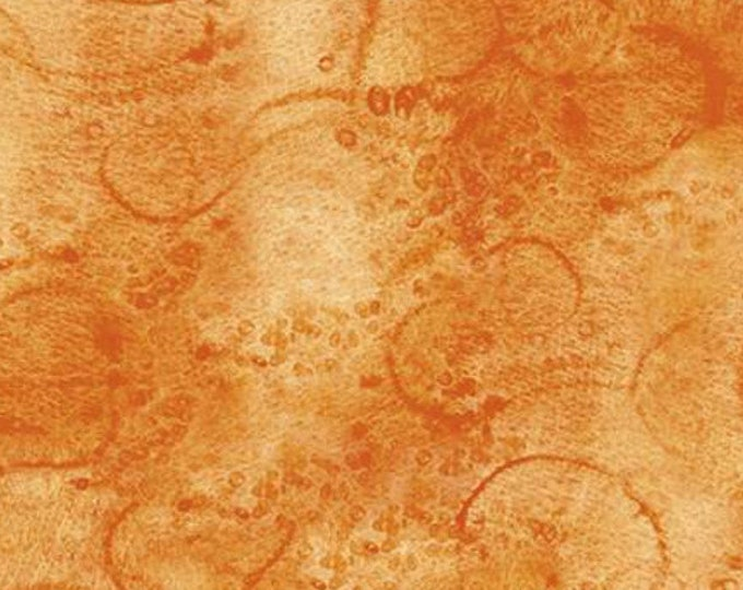 "Painter's Watercolor Swirl (Marmalade) by Riley Blake  C680  100% Cotton 44/45"" wide fabric"