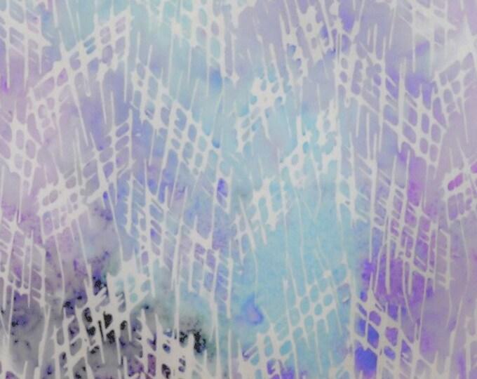 "White Prisma Milky Mist by Batiks by Mirah  MI-13-7729   44""/45"" wide fabric 100% Fabric"