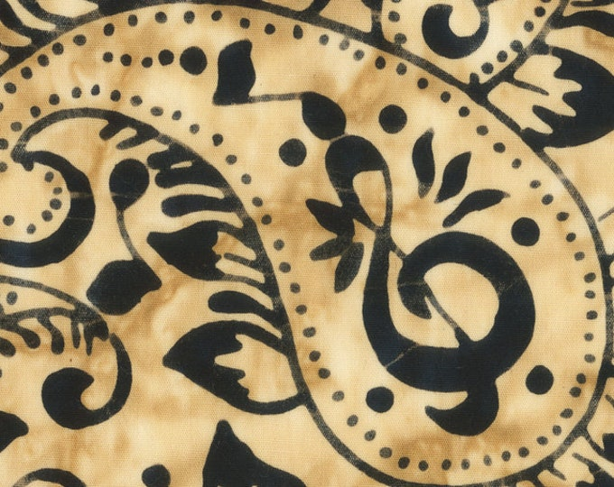 "Rhythm Of The Night by Anthology Fabrics  Paisley 973Q-1 44"" wide 100% Cotton Fabric"