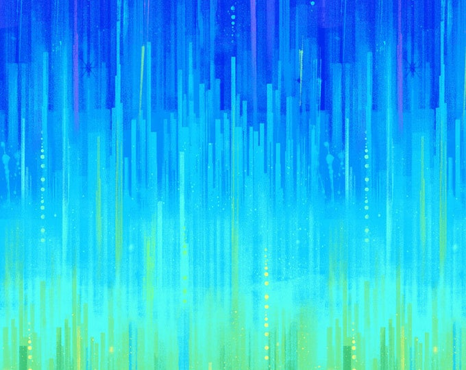 "Electric Rainbow Borderby Timeless Treasures C7304  100% Cotton 44/45"" Wide Fabrics"