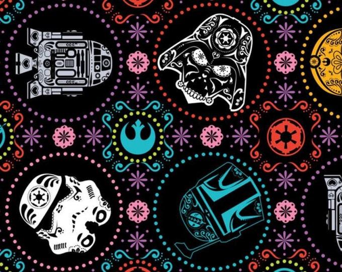 """FLEECE - Star Wars by Camelot Fabrics  58"""" wide 100% Polyester"""