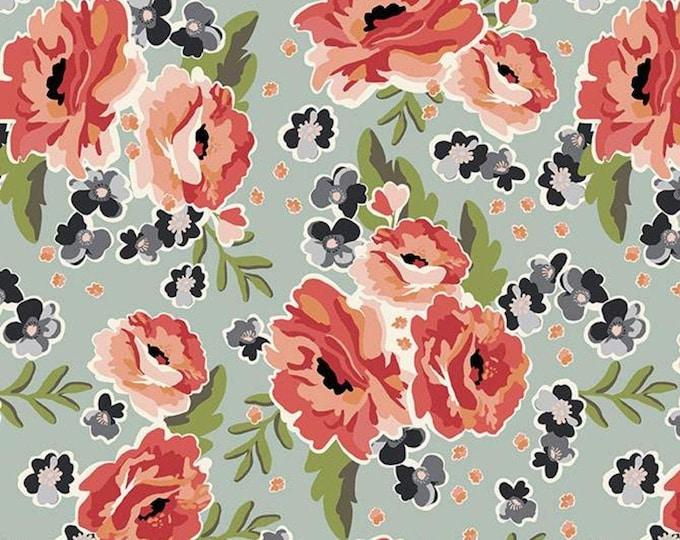"Ava Kate Main by Riley Blake C10530 Seafoam 44"" wide 100% Cotton Fabric"