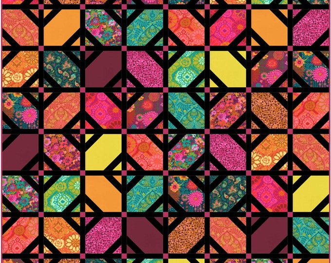 Kasada by Crystal Manning for Moda Quilt Kit 100% cotton