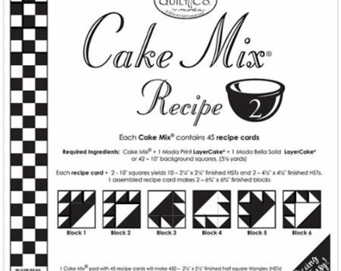 Miss Rosie's Quilt Company Cake Mix Recipe #2