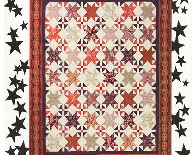 Stars Over Franklin Quilt Pattern #34 Pattern Only