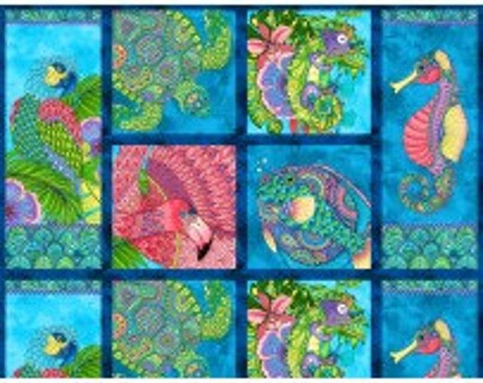 Paradise Falls - Craft Panel Multi by Hello Angel  Wilmington Prints 77619-473 (#3)