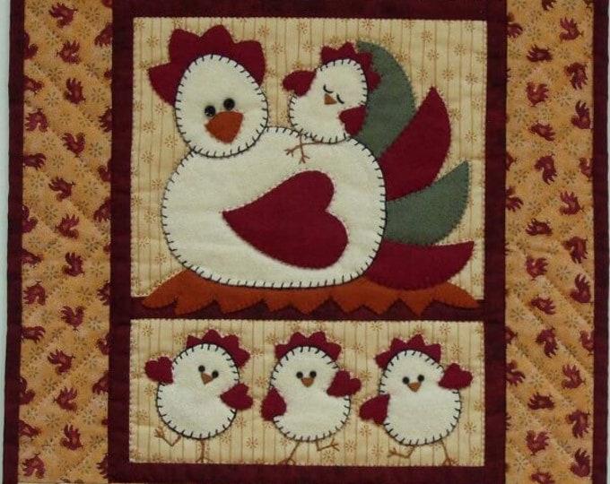 Chicken Coop Wall Quilt Kit 100% cotton