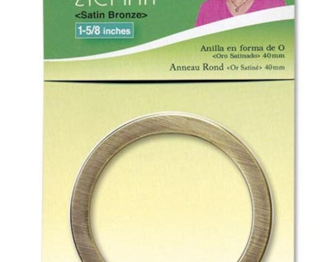 """1-5/8"""" Satin Bronze O Ring - Nancy Zieman  Clover 9543"""