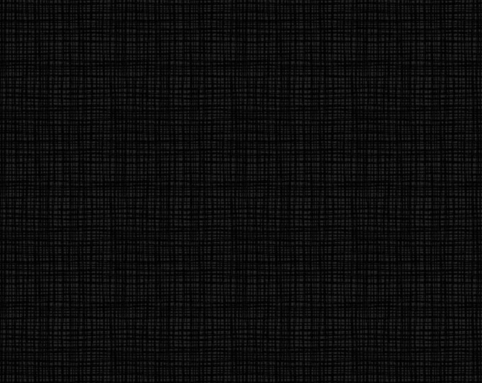 """Solid BLACK by American Made Brand Solids   100% cotton 44/45"""" wide fabric"""